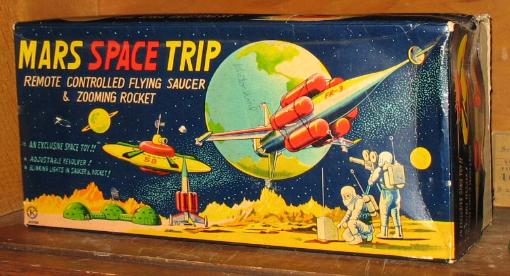 antique space rocket friction rare space toys, bat man tin toy space cars,japan spaceman vintage space toys for sale,  earthman tin toy japan robots,  vintage rocket ship, vintage space car, vintage space toy prices,  vintage moon toy appraisals japan tin toy robots antique toy appraisals